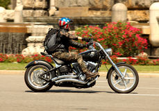 Harley-Davidson Motorcycle Royalty Free Stock Images