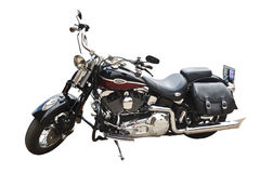 Harley davidson motorcycle. A harley davidson motorcycle have been found in Chiangmai,Thailand Stock Photo
