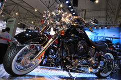 Harley Davidson motorcycle Royalty Free Stock Photo