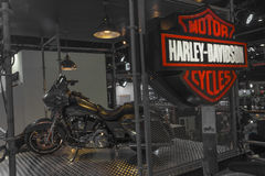 Harley - Davidson Motorcycle Photographie stock