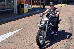 Harley-Davidson Motorcycle Fotografia Stock