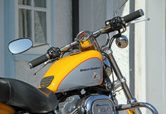 Harley davidson motorcycle bike Royalty Free Stock Photo