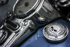 Harley Davidson Motorcycle Stock Photo