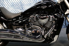 Harley Davidson Motorcycle Engine stock afbeelding