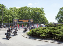 Harley Davidson motorcycle event Royalty Free Stock Image