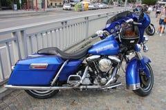 Harley Davidson Motorcycle Stock Photography