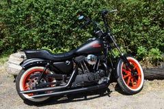 Harley Davidson motorcycle Stock Image
