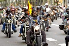 Harley-Davidson Motorcycles Arkivbilder