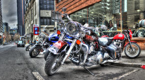 Harley Davidson motorcycles Royalty Free Stock Photography