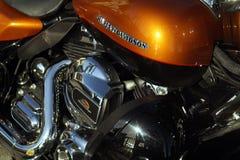 Harley Davidson motorcykel Royaltyfria Foton