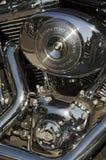 Harley Davidson motorcykelmärke Royaltyfri Fotografi