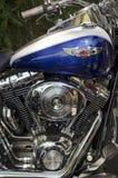 Harley Davidson motorcykelmärke Arkivbild