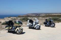 Harley Davidson motorcyklar Arkivbilder