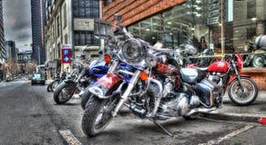 Harley Davidson motorcyklar Royaltyfri Fotografi
