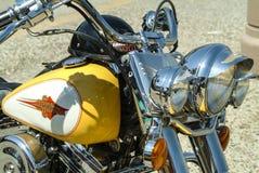 Harley Davidson motorisk cirkulering royaltyfria foton
