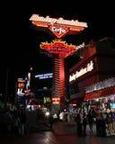 Harley Davidson neon sign, Las Vegas, NV. Stock Image