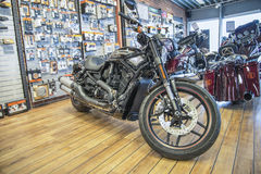 2013 Harley-Davidson, noche Rod Special Imagen de archivo libre de regalías