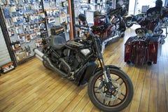 2013 Harley-Davidson, noite Rod Special Fotografia de Stock Royalty Free
