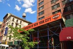 Harley Davidson Outlet em New York City Imagem de Stock Royalty Free