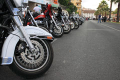 Harley-Davidson Parade. European Harley Owners Group 2012. Cascais - Portugal www.hogeuropegallery.com/portugal-2012 Royalty Free Stock Image