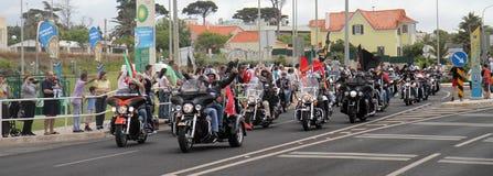 Harley Davidson parade Royalty Free Stock Photos