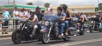 Harley Davidson parade Stock Photos