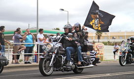 Harley Davidson parade Stock Photography
