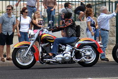 Harley Davidson parade Royalty Free Stock Photos
