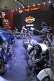Harley-davidson paviljong Fotografering för Bildbyråer