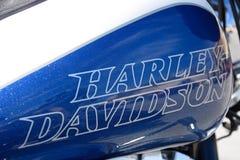 Harley Davidson Petrol Tank foto de stock royalty free