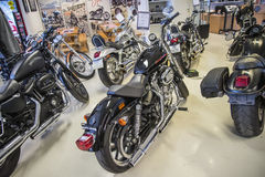 2013 Harley-Davidson, ponto baixo super de Sportster Foto de Stock