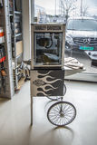 Harley-Davidson, popcorn μηχανή Στοκ φωτογραφία με δικαίωμα ελεύθερης χρήσης