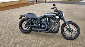 Harley Davidson Power Bike Royalty Free Stock Photo