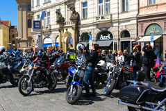 Harley Davidson Rally, Prague Stock Photography
