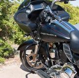 Harley Davidson Road Glide Special-gashouder royalty-vrije stock foto