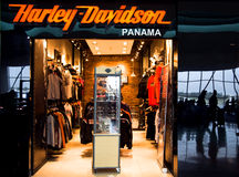 HARLEY DAVIDSON shop in airport of Panama city Stock Photo