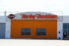 Harley Davidson showroom Royalty Free Stock Photos