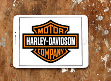 Harley Davidson silnika logo obrazy stock