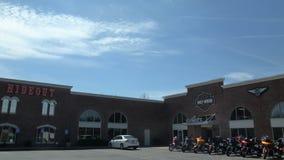 Harley Davidson sklep w Joplin, Missouri obraz stock