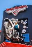 Harley Davidson sklepu przód Zdjęcie Stock
