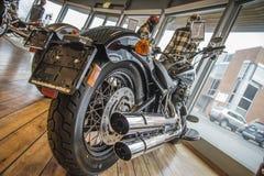 2013 Harley-Davidson, Slanke Softail Royalty-vrije Stock Afbeeldingen