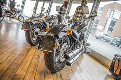 2013 Harley-Davidson, Softail dünn Lizenzfreies Stockbild