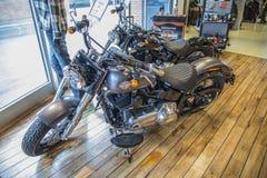 2014 Harley-Davidson, Softail dünn Lizenzfreie Stockbilder