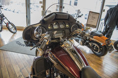 2014 Harley-Davidson, Softail delgado Foto de archivo