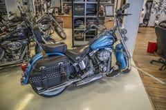 2011 Harley-Davidson, Softail dziedzictwo Obrazy Stock