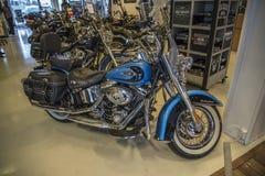 2011 Harley-Davidson, Softail-Erfenis Stock Foto
