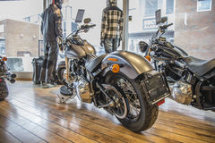 2014 Harley-Davidson, Softail esile Immagine Stock