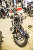 2009 Harley-Davidson, Softail-Gewohnheit Lizenzfreie Stockfotos