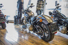 2014 Harley-Davidson, Softail mince Photo libre de droits