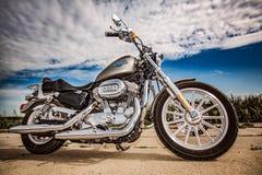 Harley-Davidson - Sportster 883 bas Photo stock